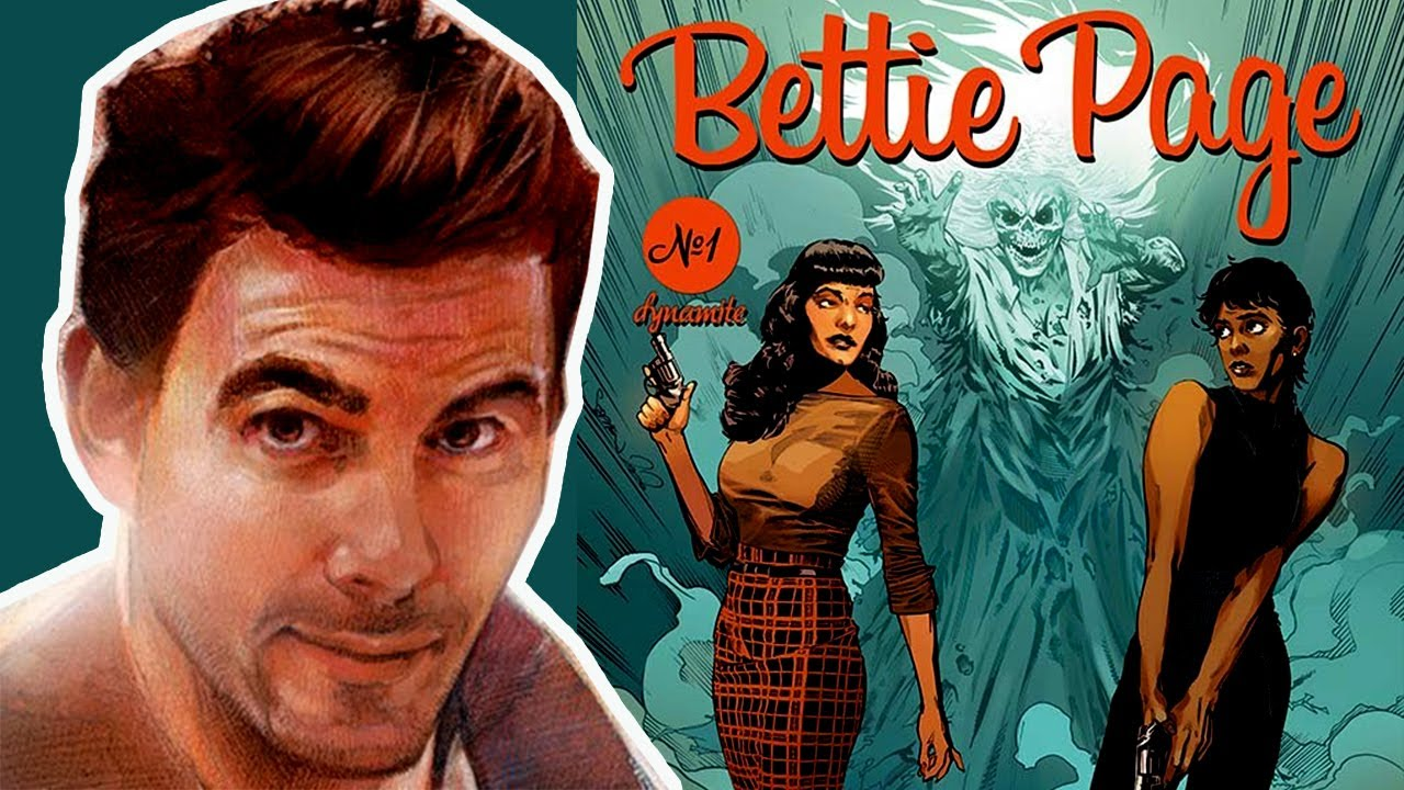 """Stephen Mooney Chats About Bettie Page and """"The Curse of the Banshee"""""""