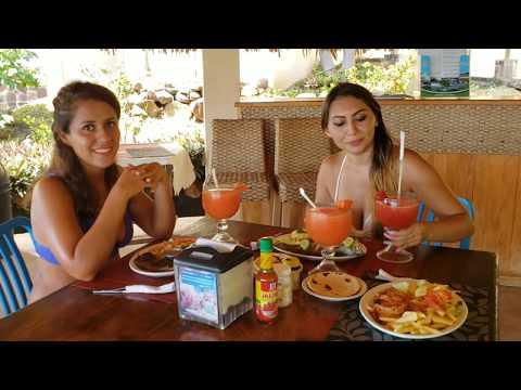 NO imaginan lo que Cindy bebió en Restaurante Los Mangos El Salvador Daily