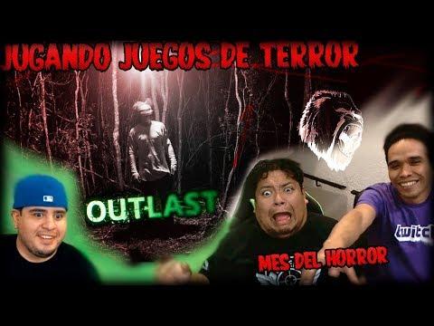 TERROR en la #GGHOUSE | 1ra Hora | Outlast con TUMTUMyDELT4