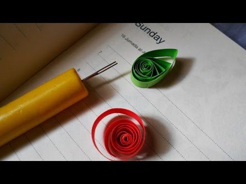 How To Make a Slotted Quilling tool - DIY Crafts Tutorial - Guidecentral
