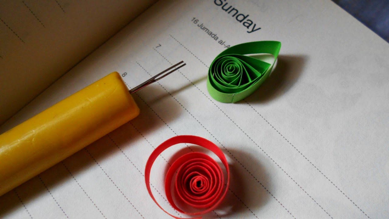 How to make a slotted quilling tool diy crafts tutorial for How to make your own quilling paper