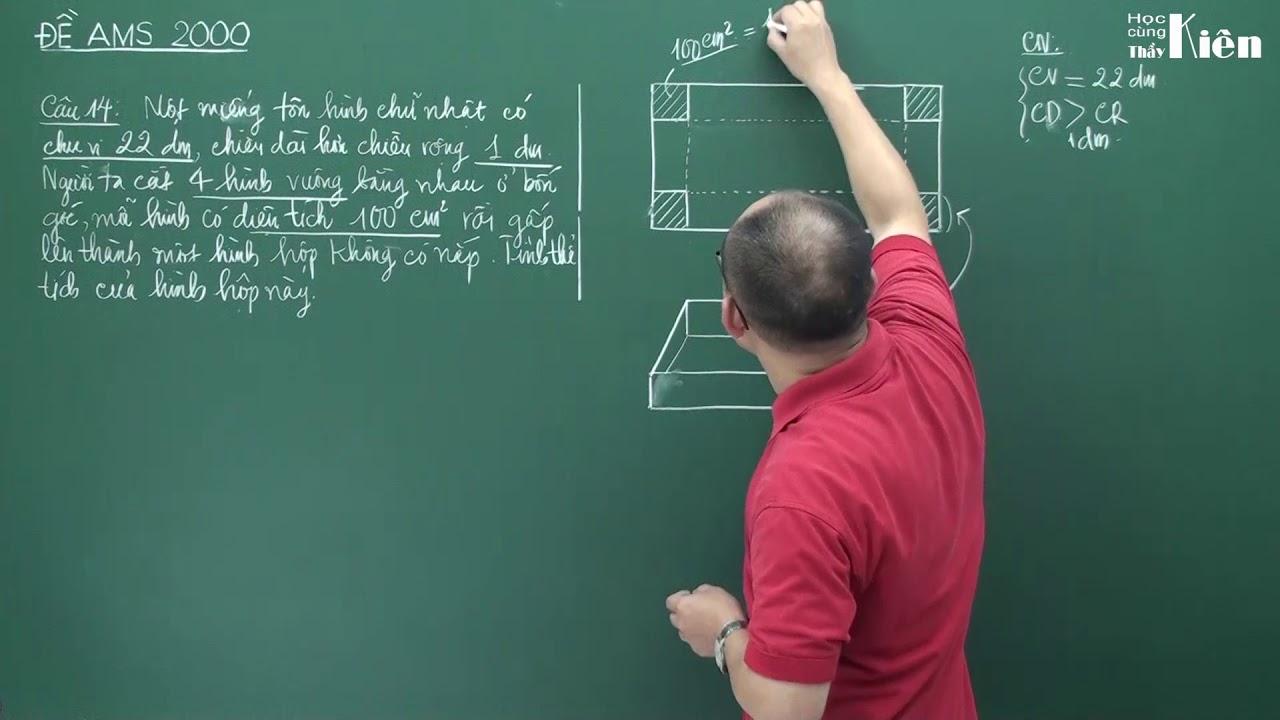 Ams2000.14 – Chữa đề thi vào Ams lớp 6 năm 2000 môn Toán – Câu 14 (Tự luyện thi Ams và trường CLC)