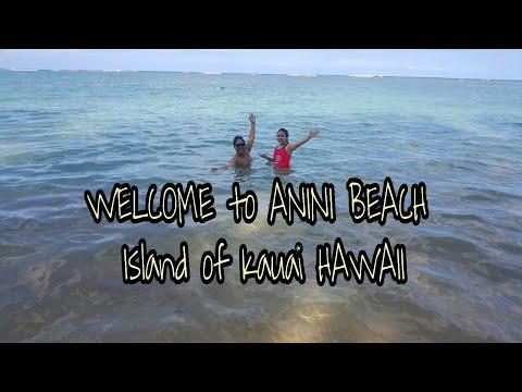 ANINI BEACH in KAUAI Island of Hawaii