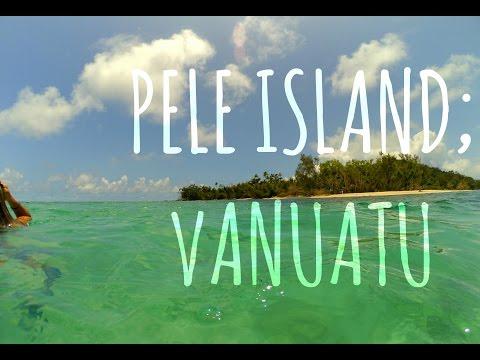 TRIP TO PELE ISLAND IN VANUATU!
