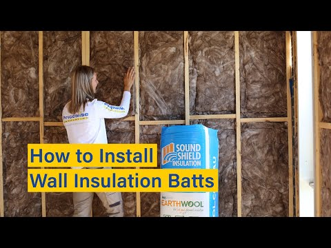 How to Install Wall Insulation Batts - Easy DIY Instructions