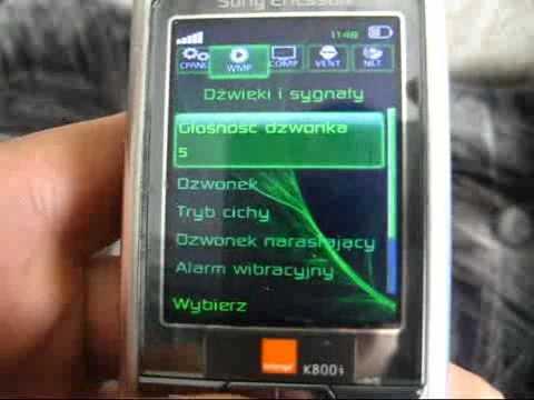 Tuning Sony Ericsson K800i