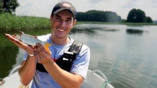 NAJDZIWNIEJSZE łowienie od lat   Płocie na odległościówkę latem   Vlog #70