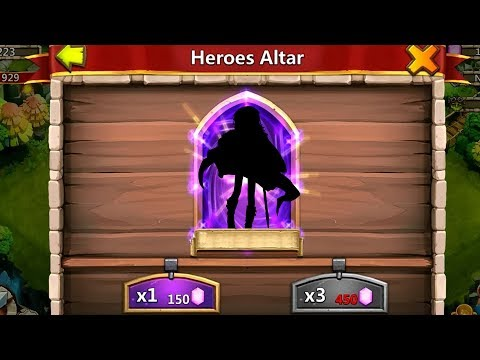 Castle Clash Rolling For New Heroes