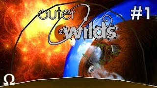 COOLEST SPACE SANDBOX GAME EVER! | Outer Wilds #1 (Alpha Demo)