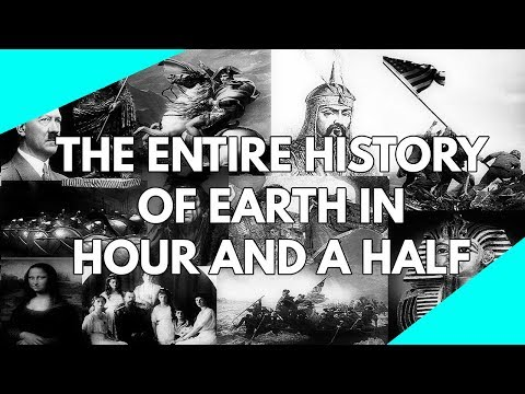 World Documentary: The entire history of the planet Earth in an hour and a half