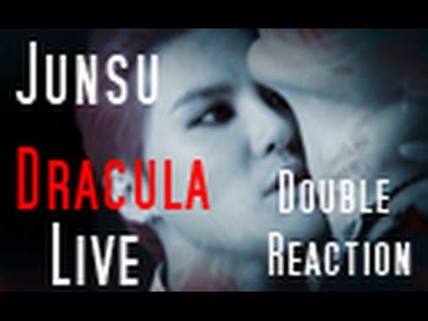 "Junsu ""Dracula"" Live Double Reaction"