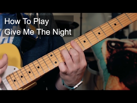 How to Play: 'Give Me The Night' George Benson Guitar Lesson