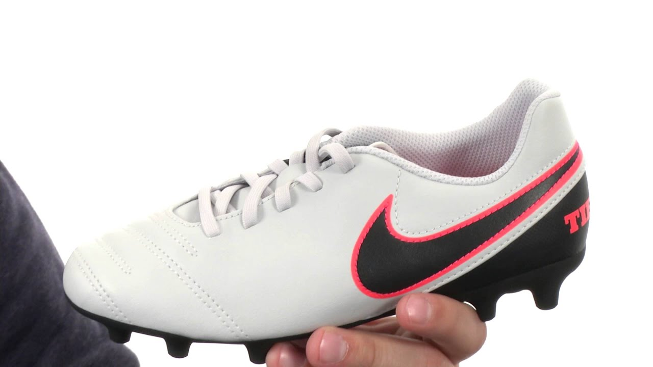 Nike Kids Jr Tiempo Rio III FG-R Soccer (Little Kid Big Kid) SKU 8595949 -  YouTube 47489bb7e2423