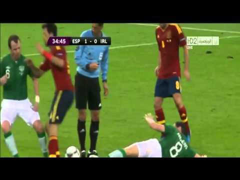 Ireland vs Spain + Portuguese Referee (Euro 2012)