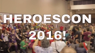 The Best Comic book Convention in NC  HeroesCon 2016