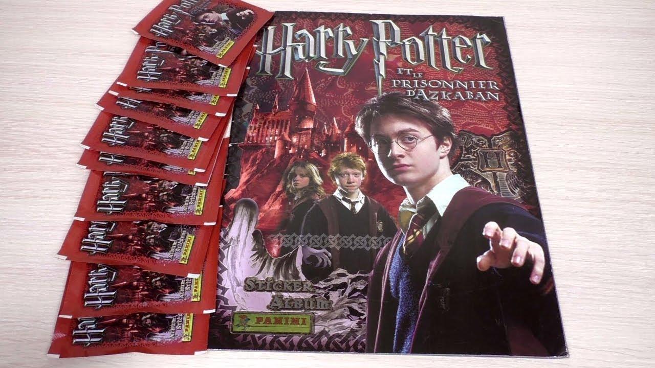 Гарри Поттер и Узник Азкабана. Собираем коллекцию наклеек ...
