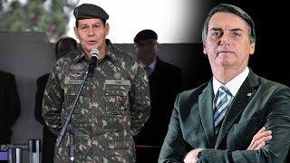 General Mourão apoia candidatura de Bolsonaro para a Presidência da República