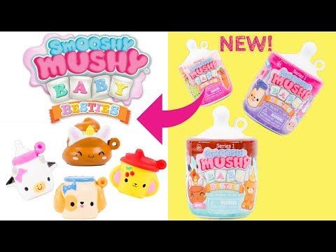 Smooshy Mushy BABY BESTIES !!! Cute Lil' Baby Bottles with Surprise Baby Besties