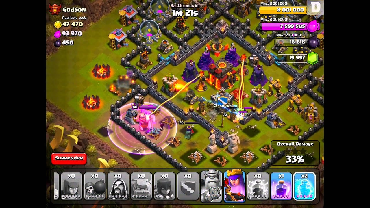 Clash Of Clans Beezkneez Blog