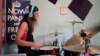 Shatter Me Lindsey Stirling ft Lzzy Hale drum cover