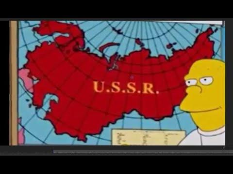 Предсказания 2020 Дата восстановления СССР!  Кукловоды рисуют мультики Симпсоны