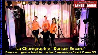 Danser encore La chorégraphie