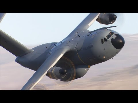 Mach Loop Airbus A400 Atlas debut - January 5th 2017