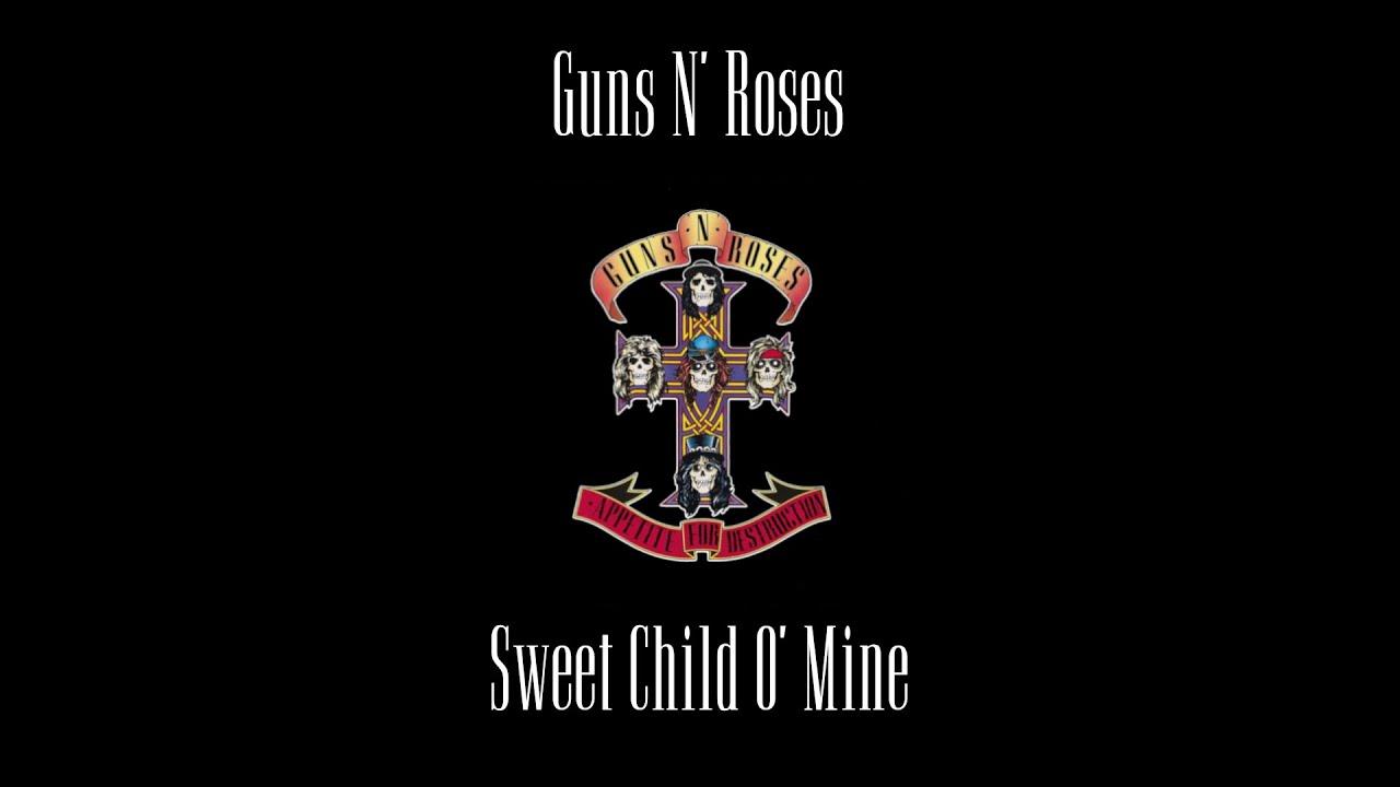Guns N' Roses - Sweet Child O' Mine (Original Backing Track)