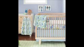 Skip Hop 4 Piece Bumper Free Crib Bedding Set, Moving Gears; Bumpers For Baby Crib