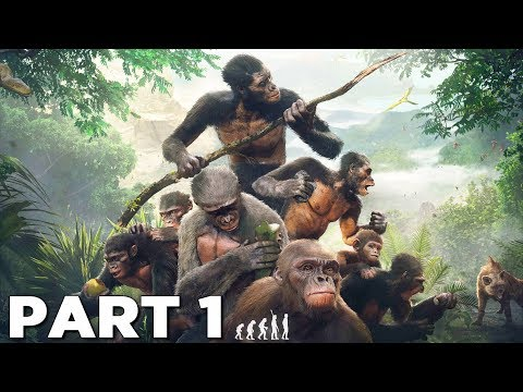 ANCESTORS THE HUMANKIND ODYSSEY Walkthrough Gameplay Part 1 - INTRO (FULL GAME)