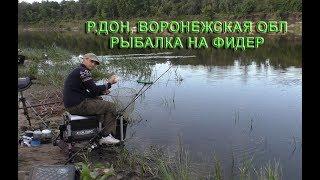 видео Рыбалка на Дону в Воронежской области