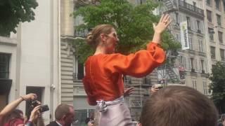Celine Dion A Paris Le 09/07/2017 À 15:26