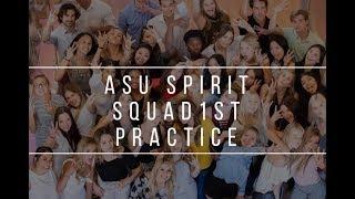 Arizona State University Spirit Squad 2018 First Practice