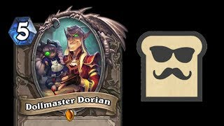 LEGENDARY CARD REVEAL: DOLLMASTER DORIAN | THE WITCHWOOD | HEARTHSTONE | DISGUISED TOAST