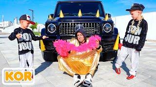 자동차 블라드와 니키타 재미있는 이야기   아이들을위한 컬렉션 비디오