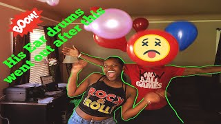 Balloon Challenge (It blew his EARDRUM)