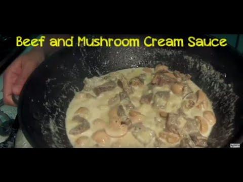 LUTONG BAHAY - BEEF IN MUSHROOM CREAM SAUCE