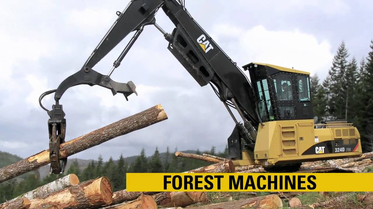 Caterpillar Forestry Product Line