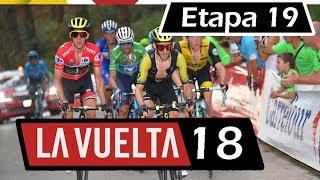 Vuelta a España 2018  Etapa 19  Recorrido