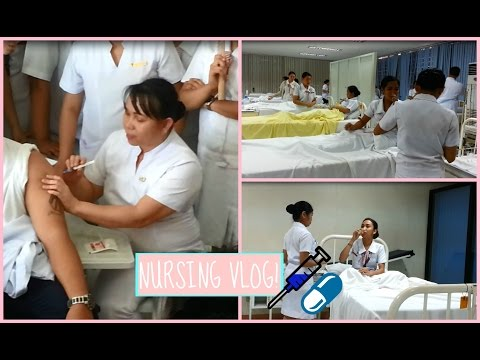 A Day In the life of a Nursing Student ♡ (Philippines) | Lorraine Uy