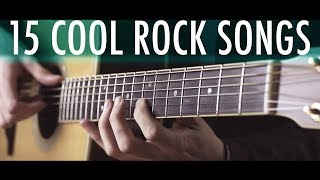 Download 15 SUPER COOL ROCK SONGS in fingerstyle Mp3 and Videos