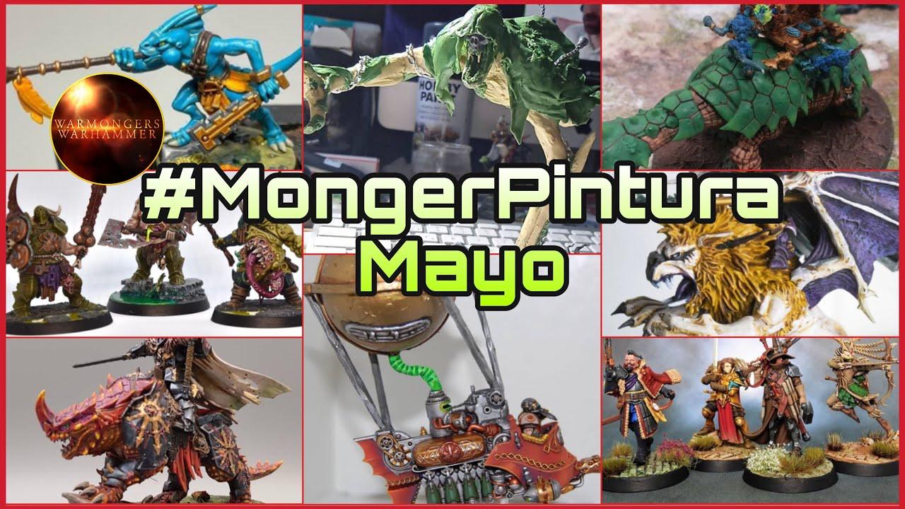 🎨 Reto #MongerPintura Mayo🎨