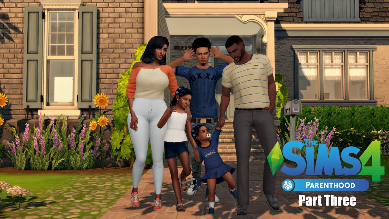 the sims 4 parenthood part three bad influence youtube