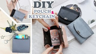 ADORABLE DIY MONEY PURSE KEYCHAIN TUTORIAL ~ For Cash and Credit Cards