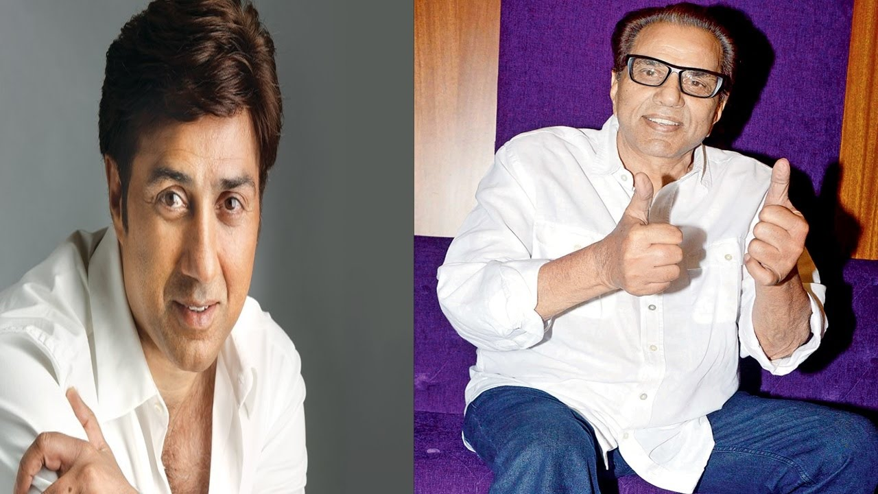 Image result for Sunny Deol and dharmendra