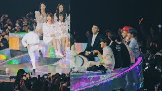 Download Video 방탄소년단(BTS) Reaction to 나하은( Na Haeun) Cover Dance @181201 MMA [ 4k Fancam/직캠 MP3 3GP MP4
