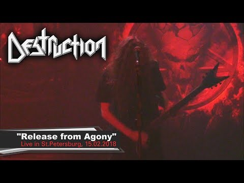 """Destruction """"Release from Agony"""" - Live in St.Petersburg, Opera club, 15.02.2018"""