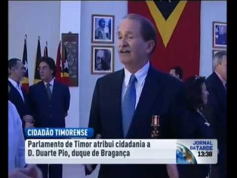 SAR D. Duarte Pio já é cidadão de Timor