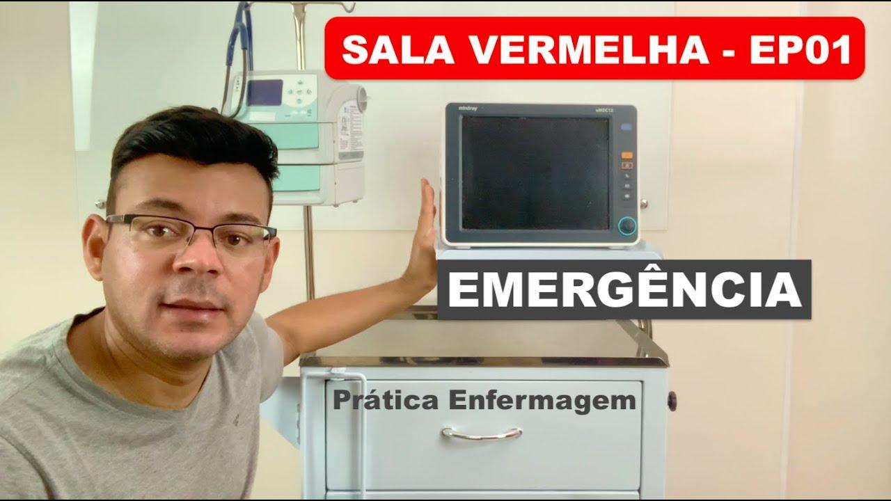 CARRINHO DE EMERGÊNCIA EM DETALHES - EP01 PILOTO