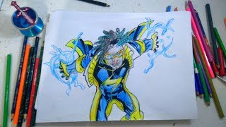Drawing Static Shock